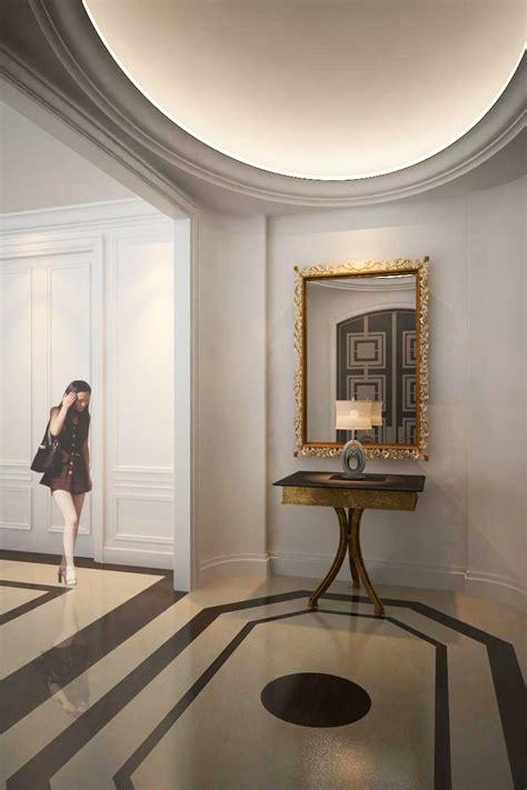 foyer minimalis ruang tamu desain klasik zik arsitek desain arsitek