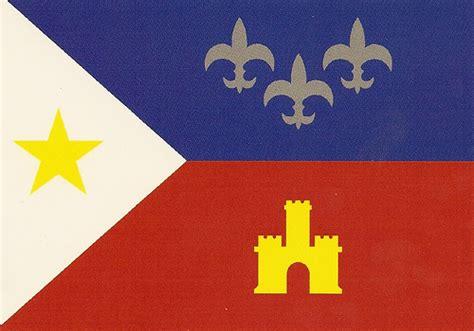 acadian cajun flag flickr photo