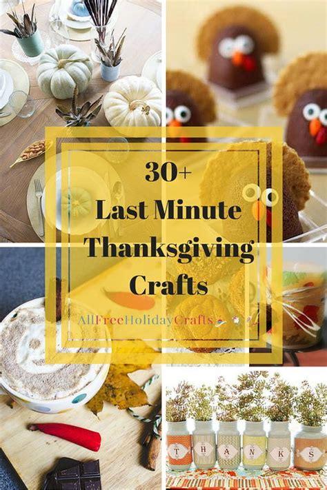 last minute crafts 30 last minute thanksgiving craft ideas