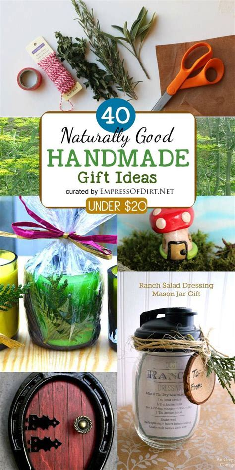 Handmade Sewing Ideas - 40 naturally handmade gifts sewing projects gifts