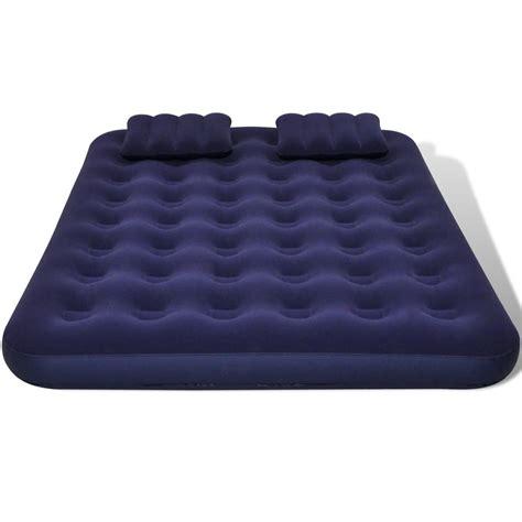 pompa per materasso gonfiabile articoli per materasso gonfiabile con cuscini e pompa