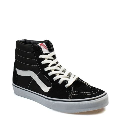 best high tops vans womens trainers leather suede sk8 high tops lace up
