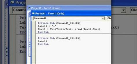 calculator visual basic how to create a simple calculator application in visual