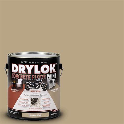 drylok 1 gal bamboo beige concrete floor paint - 1 Gal Bamboo Beige Drylok Concrete Floor Paint