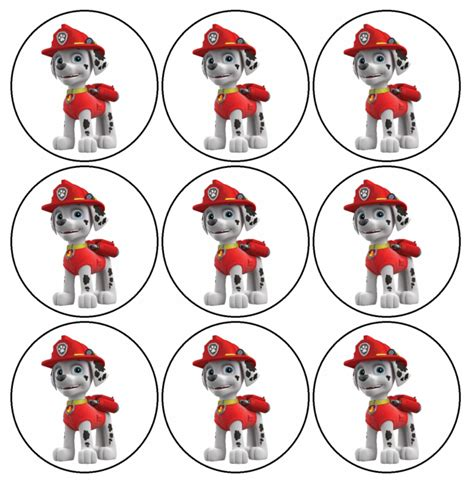 printable images of paw patrol divertido mini kit de paw patrol o patrulla canina para