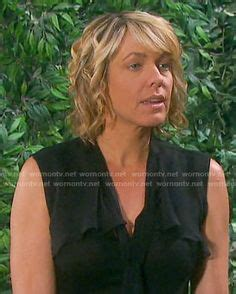 picture of nicole s hairstyle from days of our lives nicole s leopard print long sleeve dress on days of our
