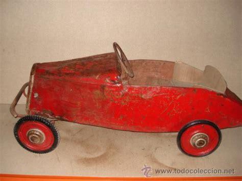 juguetes antiguos piezones coches cochecitos antiguos coche a pedales muy antiguo a 241 os 20 30 comprar juguetes