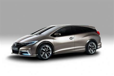 honda civic wagon concept pictures details autotribute