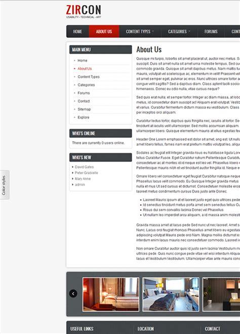 drupal themes responsive green zircon responsive drupal 8 theme weebpal