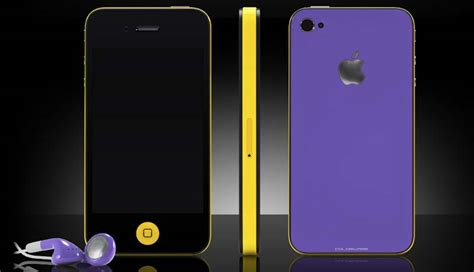 Colorware Spruces Up The Iphone by Colorware Pimps Up The Iphone4s