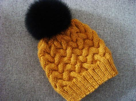 free knitted cable hat patterns winter cable hat allfreeknitting