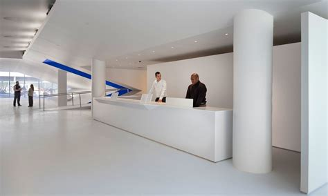 Square One Information Desk by Museum Of The Moving Image Leeser Architecture