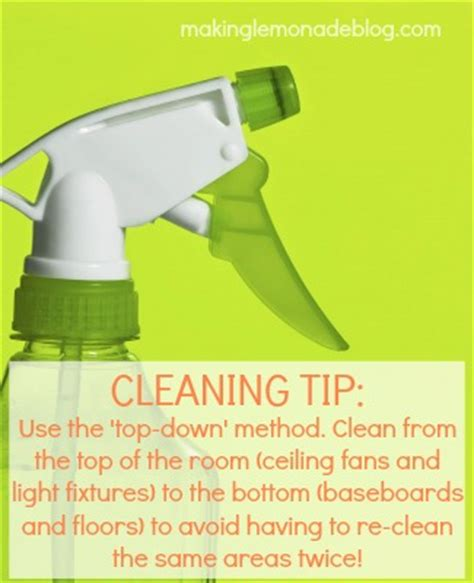 housekeeping tips 31 quick spring cleaning tips making lemonade