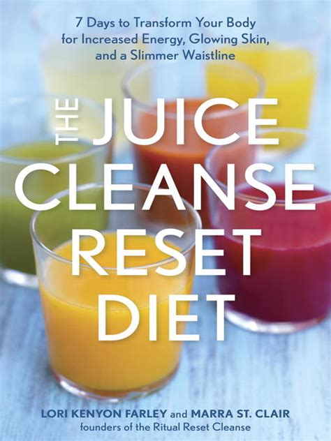 Juice Detox Ontario by The Juice Cleanse Reset Diet Ontario Library Service