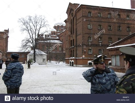 the russian interior ministry officers in the kresty