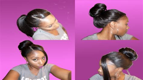 full lace wigs already in updo how to style a lace wig updo ponytail bun 5 effortless
