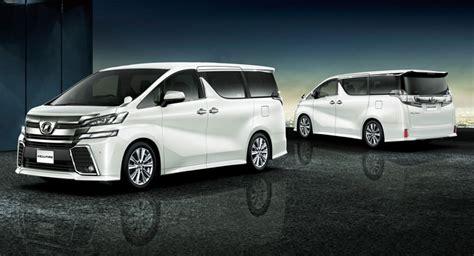 Minivan Toyota Toyota Unveils New Alphard And Vellfire Minivans In Japan
