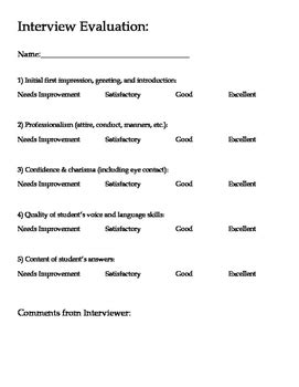 biography interview questions for elementary students mock college job interview questions with rubric