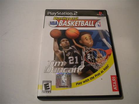 backyard basketball sony playstation 2 2003 used
