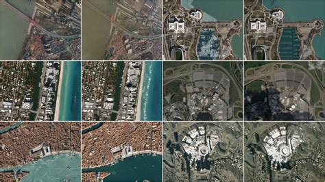 incredible satellite images show social distancing