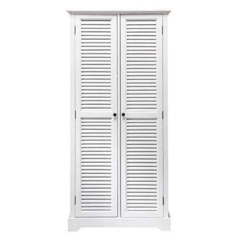 guardaroba bianco guardaroba bianco in legno l 86 cm barbade maisons du monde