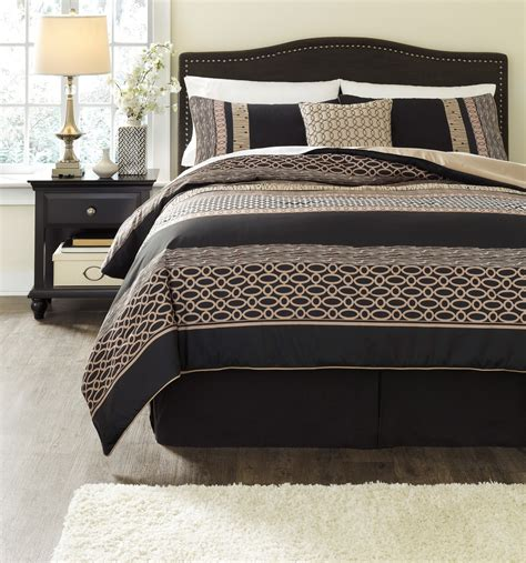 charcoal comforter stephens charcoal king comforter set asl q170005k ashley