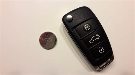Audi Schl Ssel Batterie by Batterie Auto Autoschl 252 Ssel Funkfernbedienung Audi