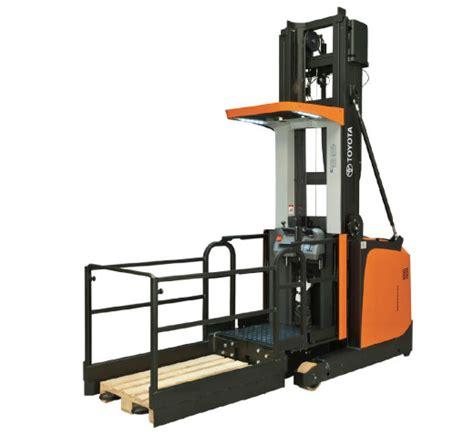 toyota bt optio ome120hw high level order picker toyota material handling australia s leading