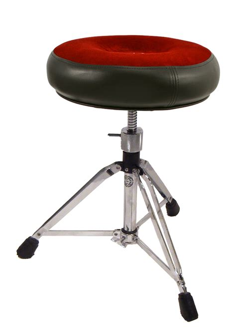 comfortable drum throne roc n soc drum throne manual spindle round red rainbow