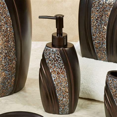 Grandeur Mosaic Bronze Bath Accessories Bronze Bathroom Accessories
