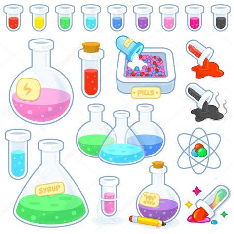 imagenes animadas quimica tubos de ensayo qu 237 mica laboratorio aislado vector