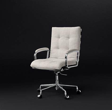 white rolling desk chair elle tufted desk chair ballard designs