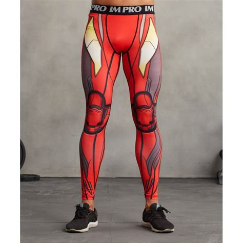 Sale Ironman Jarvis Spandex iron s compression tights