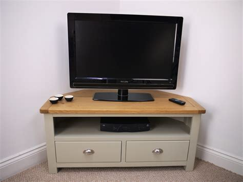 living room furniture tv stands grey painted oak corner tv unit oak city