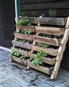 recycled pallet wood planters pallet wood projects