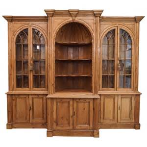 pine bookcases for sale antique pine breakfront bookcase for sale at 1stdibs
