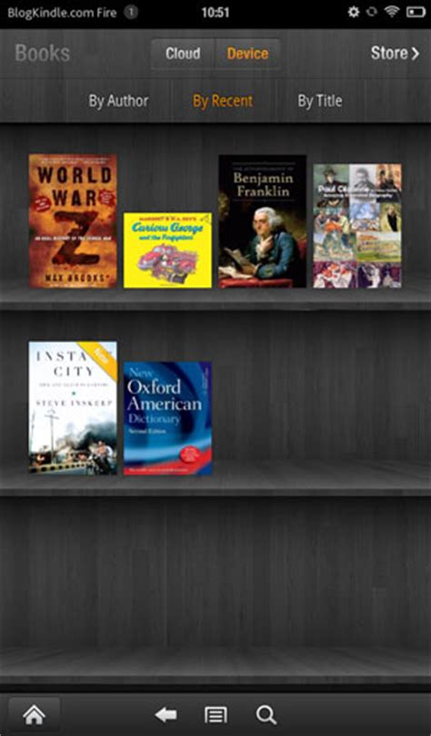 Kindle Book Shelf by Kindle Review On