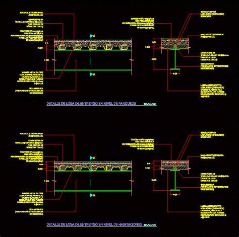 details  slab galdeck dwg detail  autocad designs cad