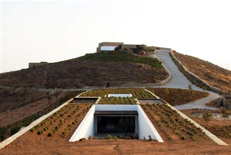Mediterranean Home Designs by Beautiful Underground Aloni House Blends In With The Earth