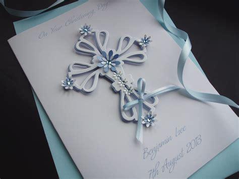 Baptism Gift Card - luxury handmade christening cards pinkandposh co ukpink posh