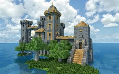 Ten Epic Minecraft Castles For Inspiration   Minecraft