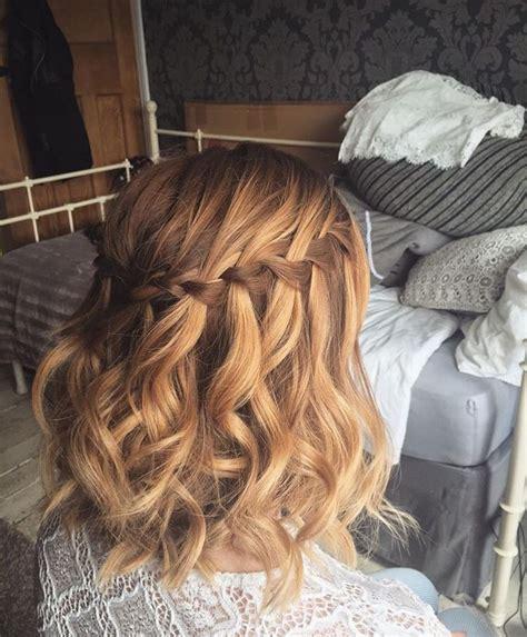 curly hairstyles for hoco best 20 braiding short hair ideas on pinterest braid