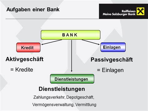 bank kredite die bank als unternehmen ppt herunterladen