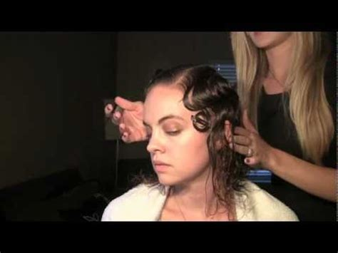 how to do a finger wave on a twa instructions for making black hairstyle finger wave hair