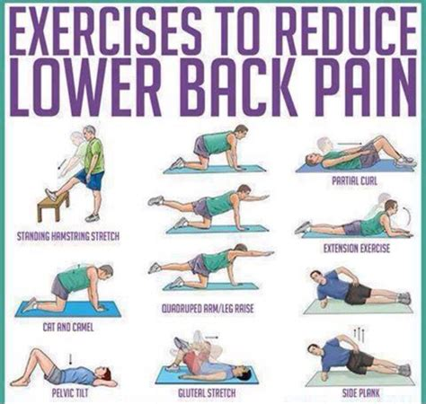 how to get back to shape after c section exercises to reduce lower back pain get in shape