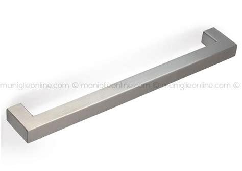 maniglie per cucina in acciaio maniglia per mobile acciaio inox satinato mital 3110