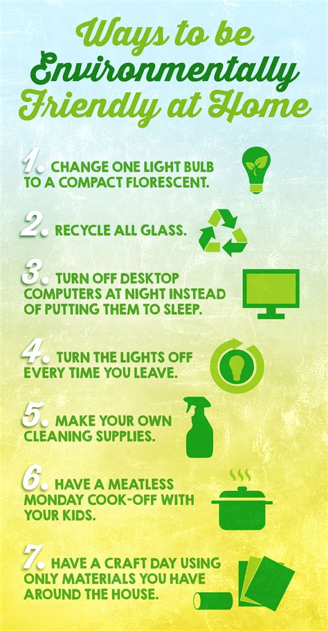 10 ways to make more environmentally aware live