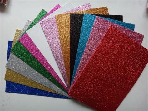 Ethylene Vinyl Acetate Foam Sheet - folha de acetato de etileno vinil colorido glitter adesivo