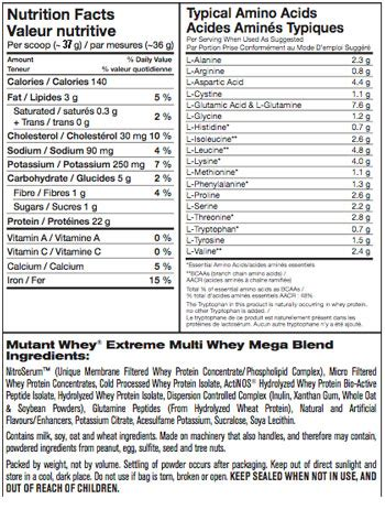 Suplemen Whey Mutant mutant whey 5lb 79 95 xplosiv supplements