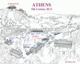 athens map ancient athens map athens mappery